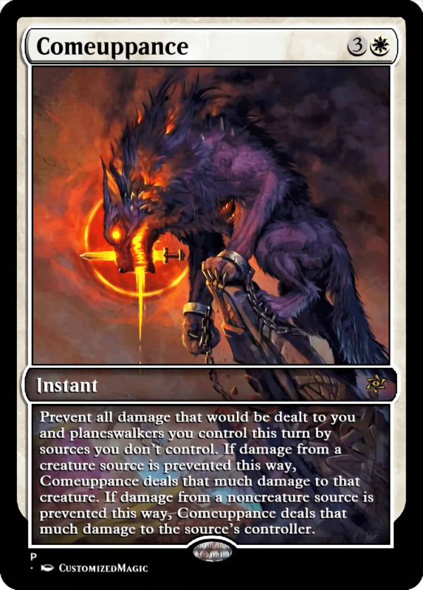 Comeuppance1.5 - Magic the Gathering Proxy Cards