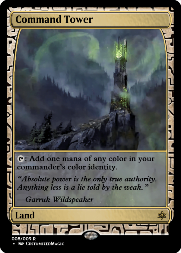 Command Tower - Magic the Gathering Proxy Cards