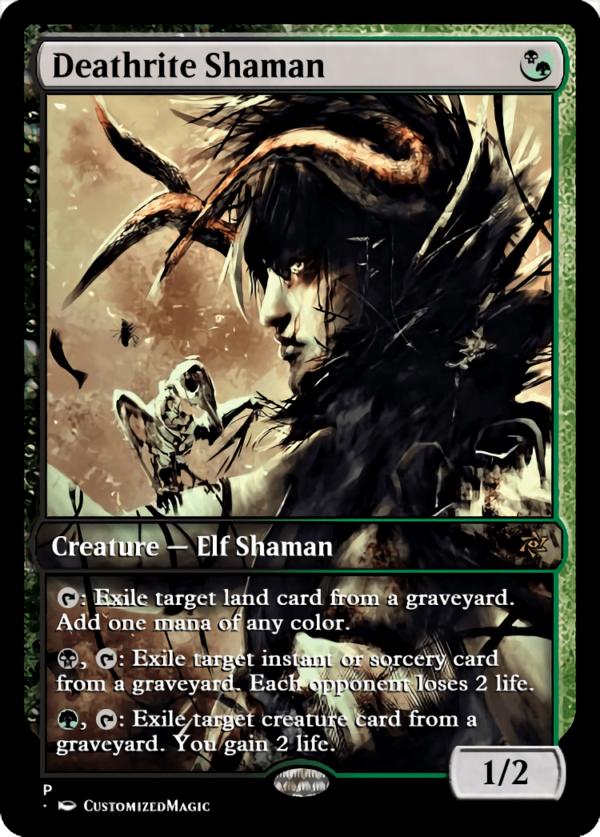 Deathrite Shaman.1 - Magic the Gathering Proxy Cards