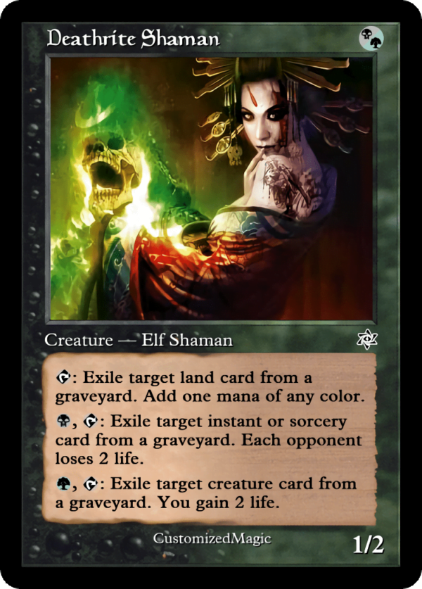 Deathrite Shaman.3 - Magic the Gathering Proxy Cards