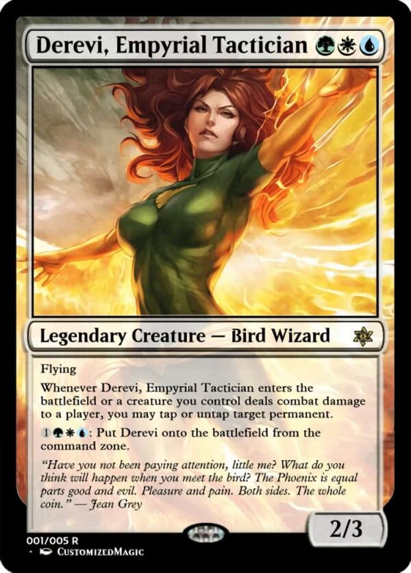 Derevi Empyrial Tactician - Magic the Gathering Proxy Cards