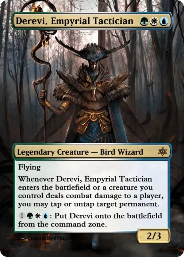 Derevi Empyrial Tactician.2 - Magic the Gathering Proxy Cards