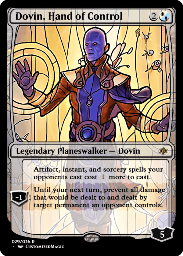 Dovin Hand of Control 1 - Magic the Gathering Proxy Cards
