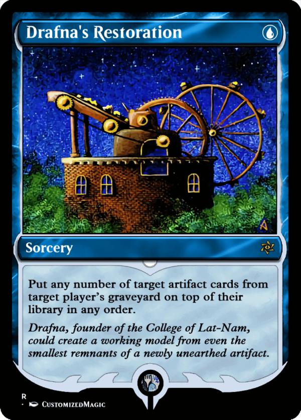 Drafnas Restoration - Magic the Gathering Proxy Cards