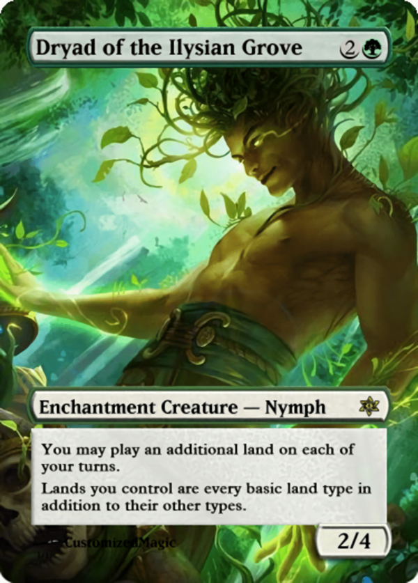 Dryad of the Ilysian Grove.11 - Magic the Gathering Proxy Cards