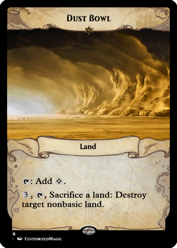 Dust Bowl.1 - Magic the Gathering Proxy Cards