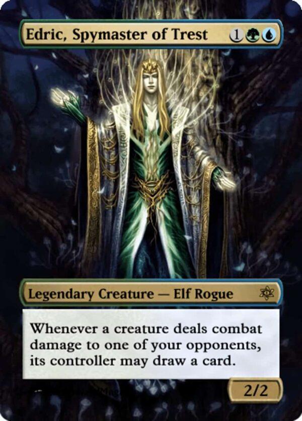 Edric Spymaster of Trest.11 - Magic the Gathering Proxy Cards