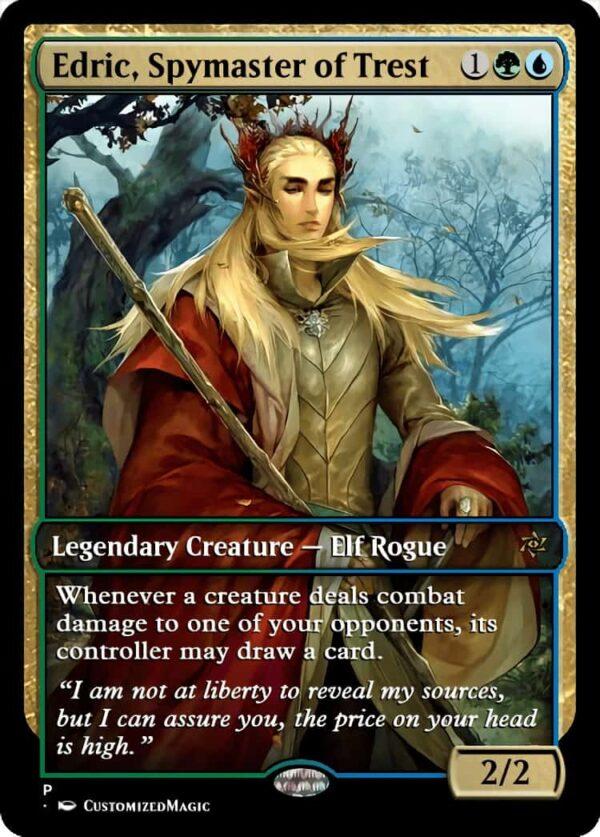 Edric Spymaster of Trest.3 - Magic the Gathering Proxy Cards