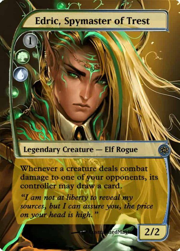 Edric Spymaster of Trest.4 - Magic the Gathering Proxy Cards
