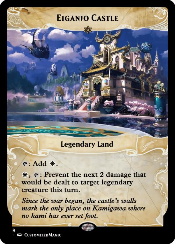 Eiganjo Castle - Magic the Gathering Proxy Cards