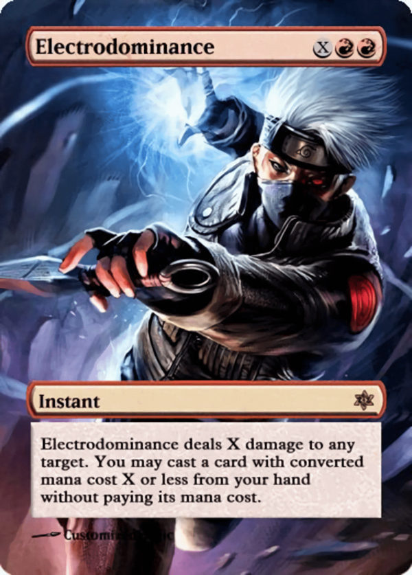 Electrodominance - Magic the Gathering Proxy Cards