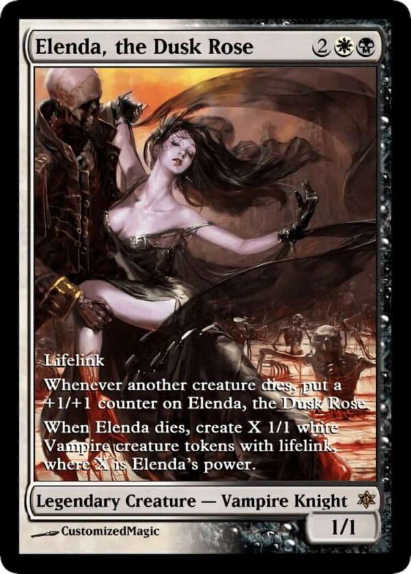 Elenda the Dusk Rose.1 - Magic the Gathering Proxy Cards