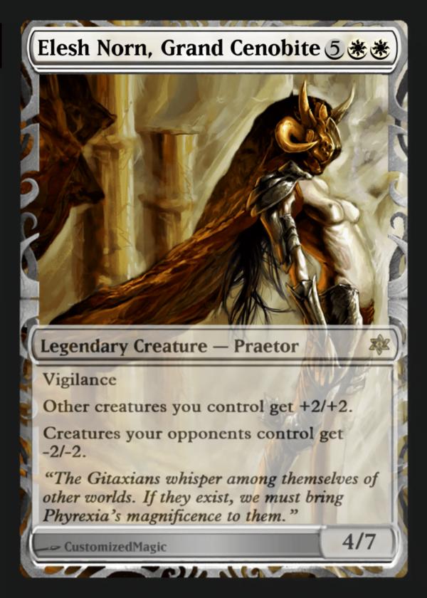 Elesh Norn Grand Cenobite - Magic the Gathering Proxy Cards