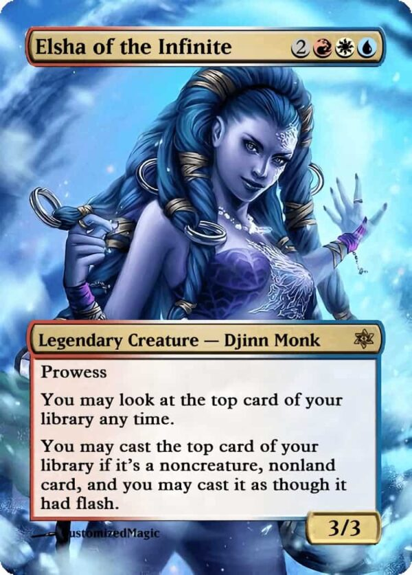Elsha of the Infinite - Magic the Gathering Proxy Cards