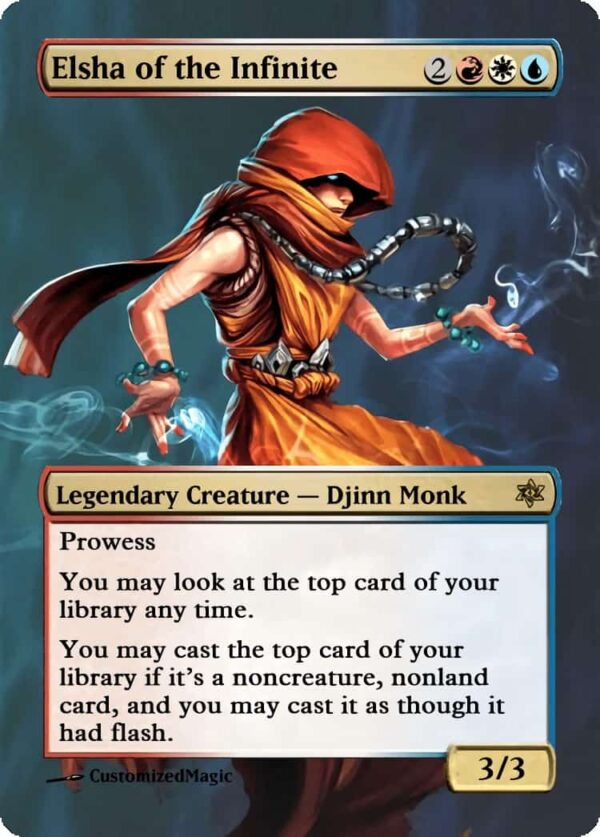 Elsha of the Infinite.4 - Magic the Gathering Proxy Cards