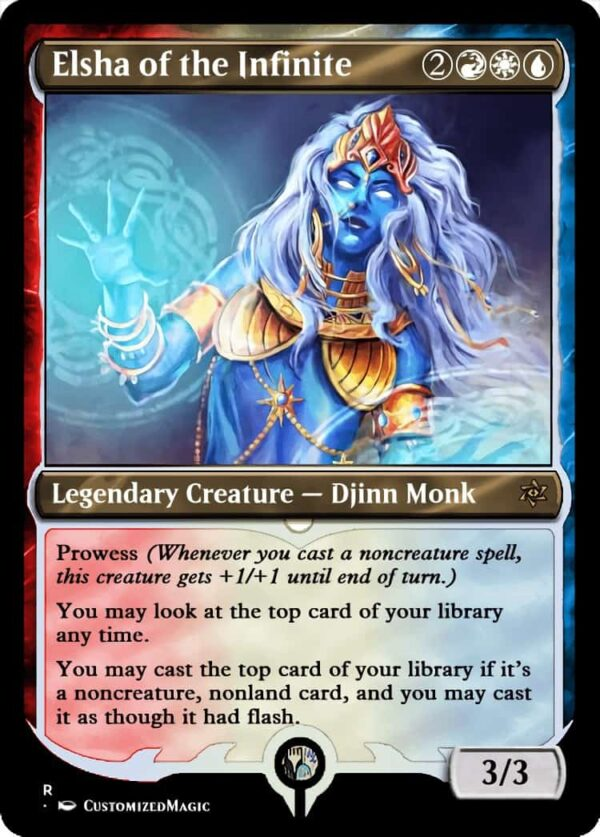 Elsha of the Infinite.6 - Magic the Gathering Proxy Cards