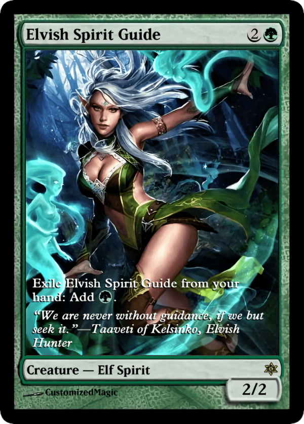 Elvish Spirit Guide.4 - Magic the Gathering Proxy Cards