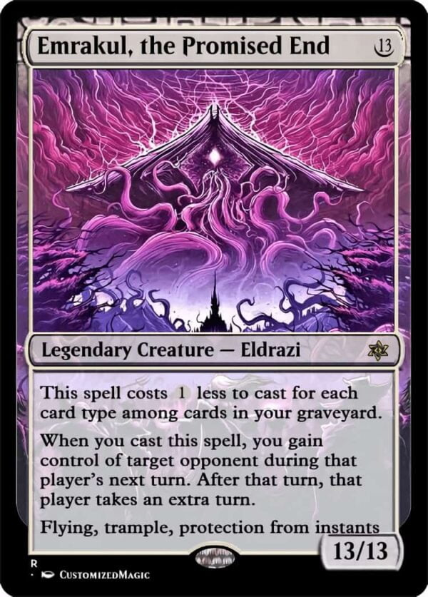 Emrakul the Promised End.1 - Magic the Gathering Proxy Cards