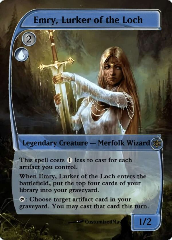 Emry Lurker of the Loch.2 - Magic the Gathering Proxy Cards