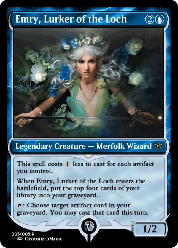 Emry Lurker of the Loch.3 - Magic the Gathering Proxy Cards