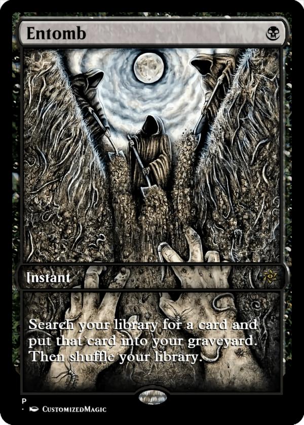 Entomb.3 - Magic the Gathering Proxy Cards
