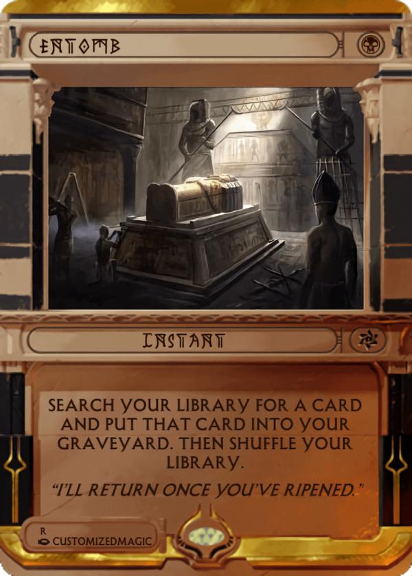 Entomb.5 - Magic the Gathering Proxy Cards