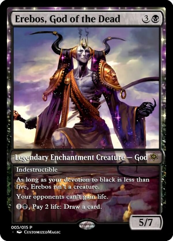 Erebos God of the Dead - Magic the Gathering Proxy Cards