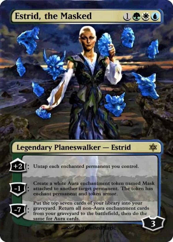 Estrid the Masked - Magic the Gathering Proxy Cards