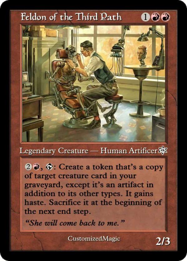 Feldon of the Third Path.2 - Magic the Gathering Proxy Cards