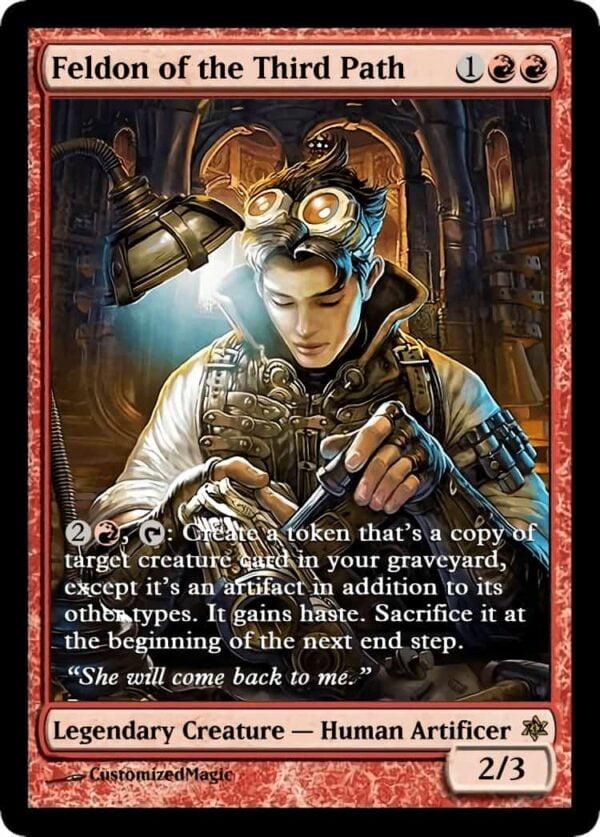 Feldon of the Third Path.6 - Magic the Gathering Proxy Cards