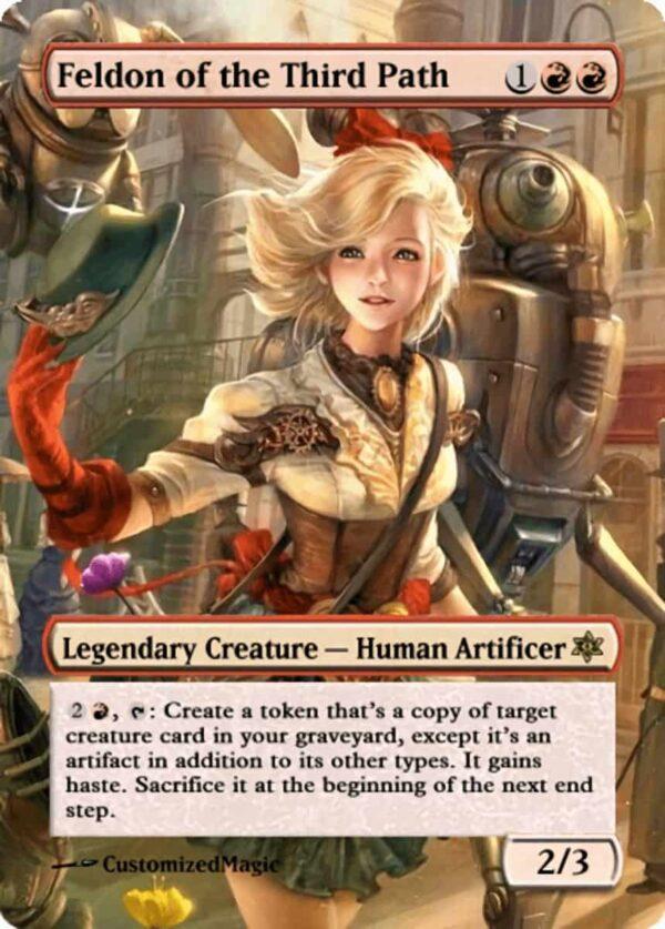 Feldon of the Third Path.71 - Magic the Gathering Proxy Cards