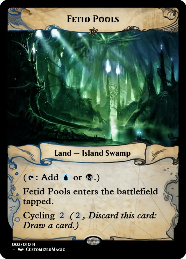 Fetid Pools.1 - Magic the Gathering Proxy Cards