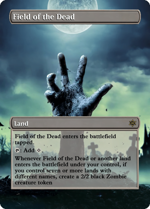 Field of the Dead - Magic the Gathering Proxy Cards