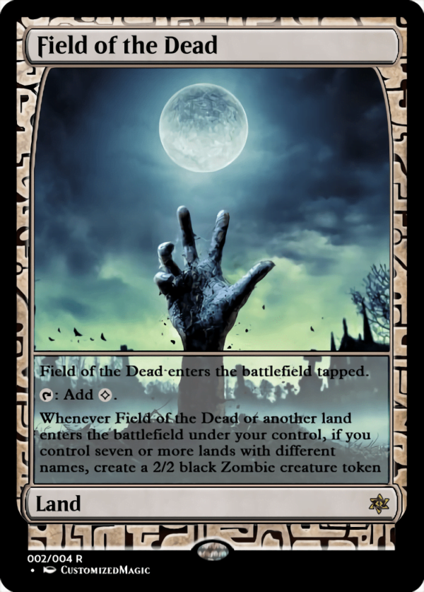Field of the Dead.1 - Magic the Gathering Proxy Cards