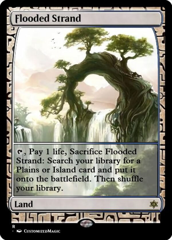 Flooded Strand - Magic the Gathering Proxy Cards