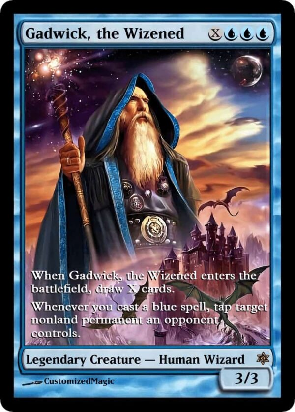 Gadwick the Wizened.3 - Magic the Gathering Proxy Cards