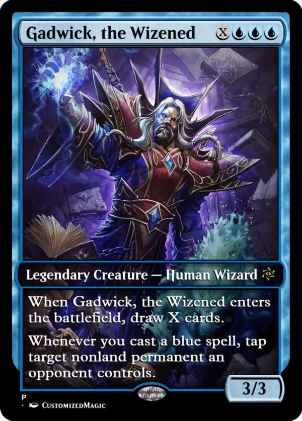 Gadwick the Wizened.4 - Magic the Gathering Proxy Cards