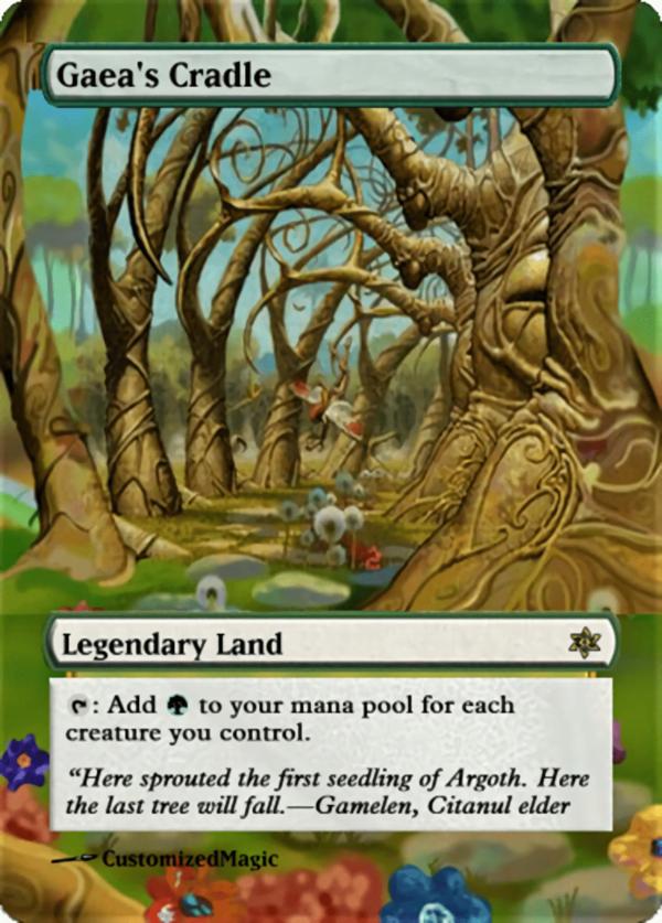 Gaeas Cradle - Magic the Gathering Proxy Cards