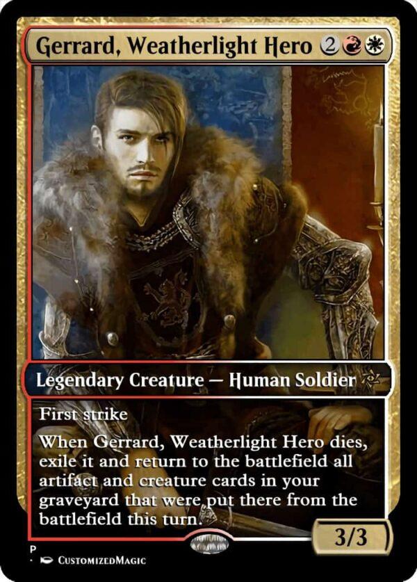 Gerrard Weatherlight Hero.4 - Magic the Gathering Proxy Cards