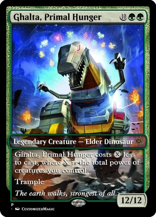 Ghalta Primal Hunger - Magic the Gathering Proxy Cards