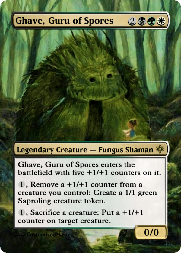 Ghave Guru of Spores.4 - Magic the Gathering Proxy Cards