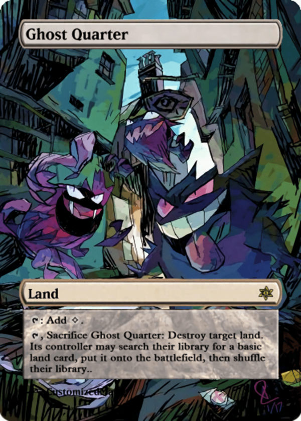 Ghost Quarter.11 - Magic the Gathering Proxy Cards