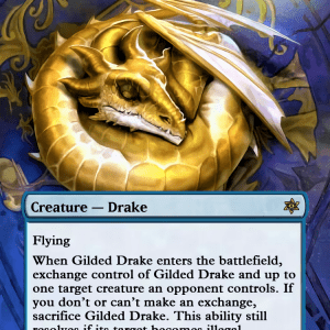 Gilded Drake