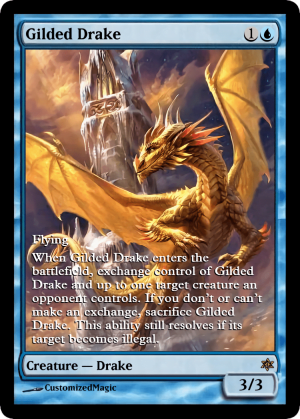Gilded Drake.3 - Magic the Gathering Proxy Cards
