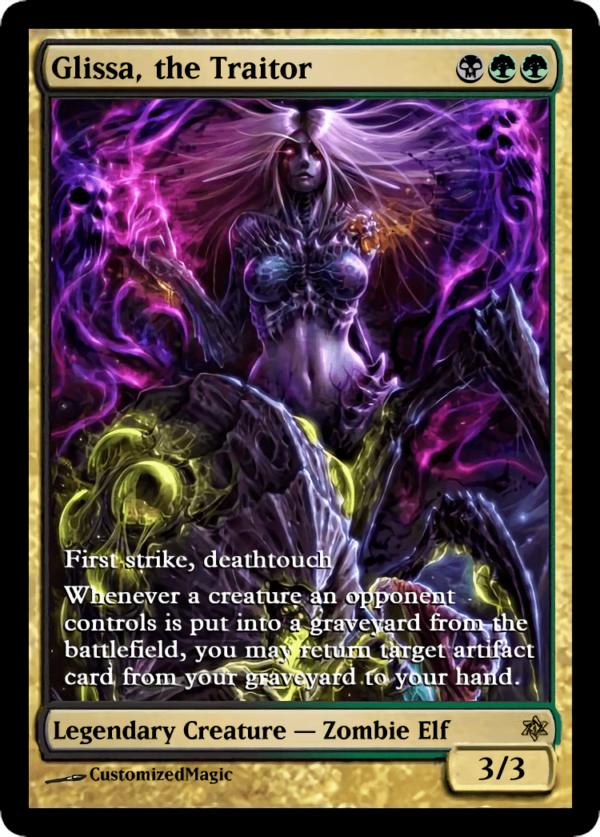 Glissa the Traitor 21 - Magic the Gathering Proxy Cards