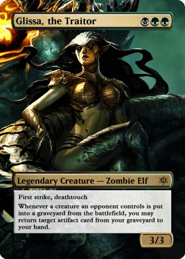 Glissa the Traitor.11 - Magic the Gathering Proxy Cards