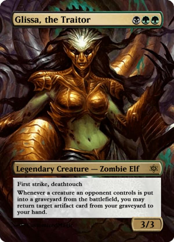 Glissa the Traitor.12 - Magic the Gathering Proxy Cards