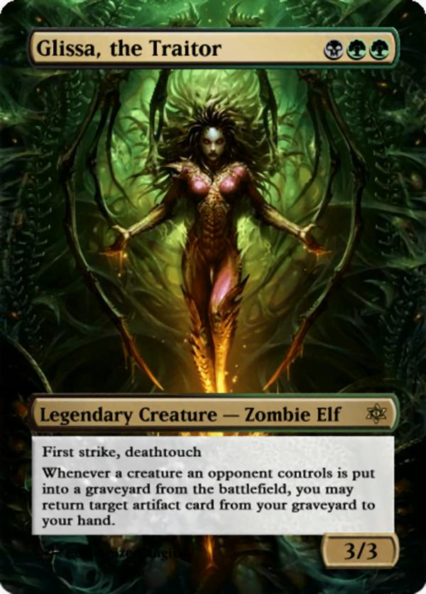 Glissa the Traitor.13 - Magic the Gathering Proxy Cards