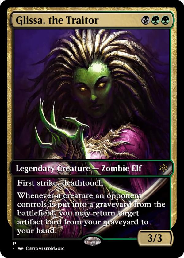 Glissa the Traitor.6 - Magic the Gathering Proxy Cards