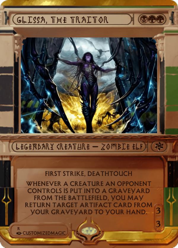 Glissa the Traitor.7 - Magic the Gathering Proxy Cards